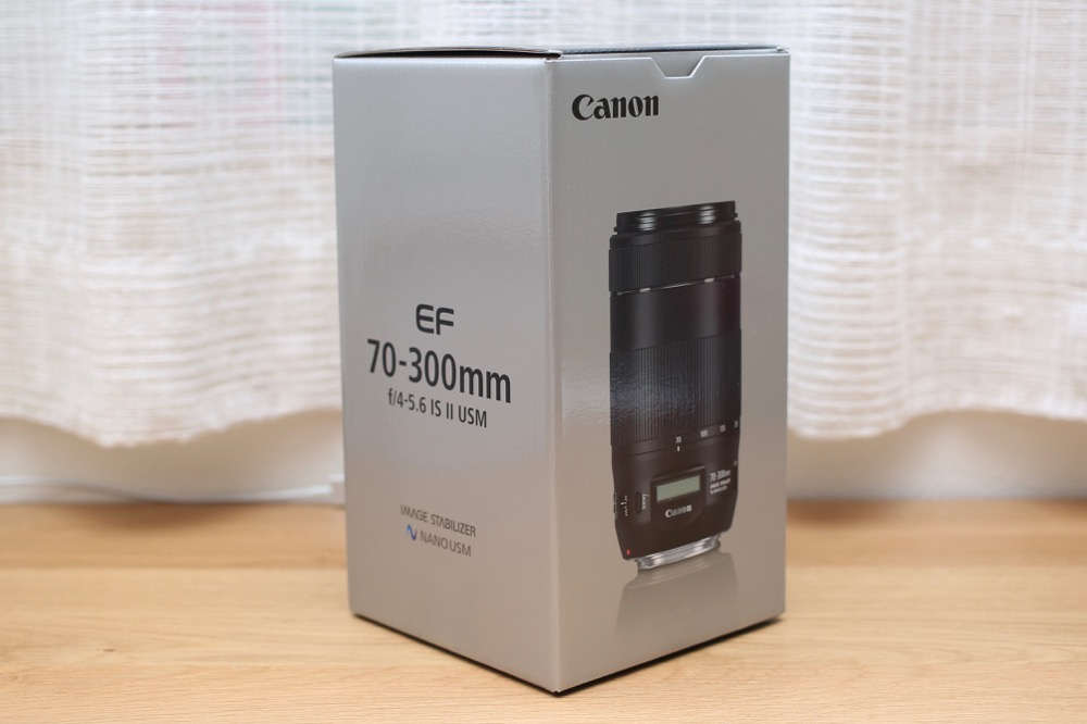 EF70-300mm F4-5.6 IS II USM 1