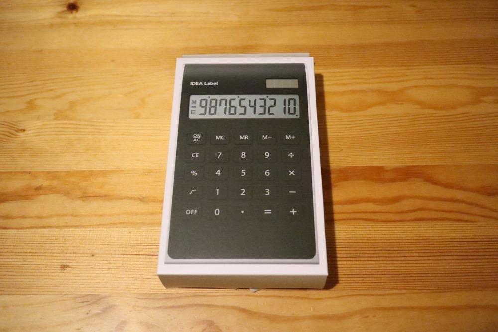 イデアレーベル 電卓1