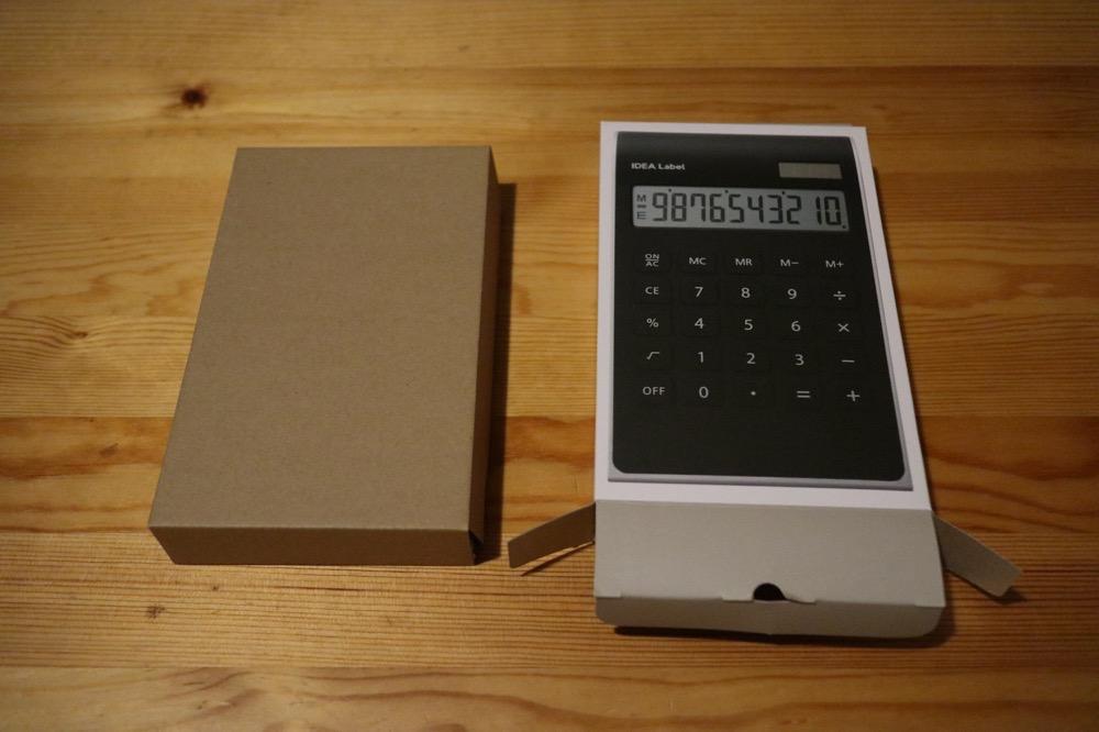 イデアレーベル 電卓5