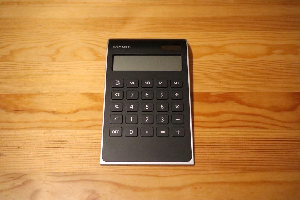 イデアレーベル 電卓8