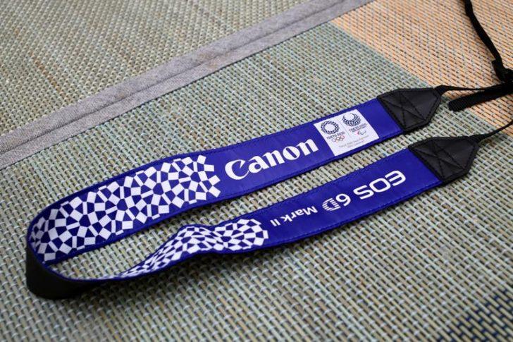 Canonオリジナル東京オリンピックストラップ3