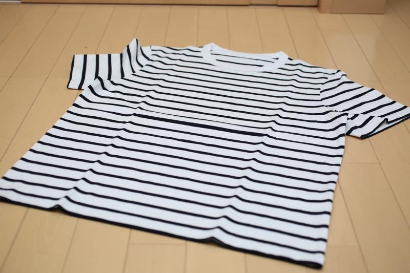 zozo ボーダーシャツ4