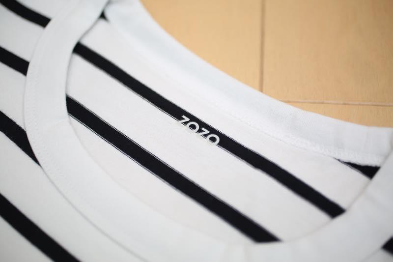 zozo ボーダーシャツ6