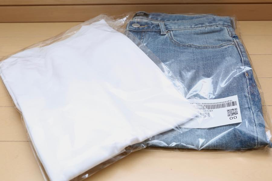 ZOZOTOWNのデニムとTシャツ7