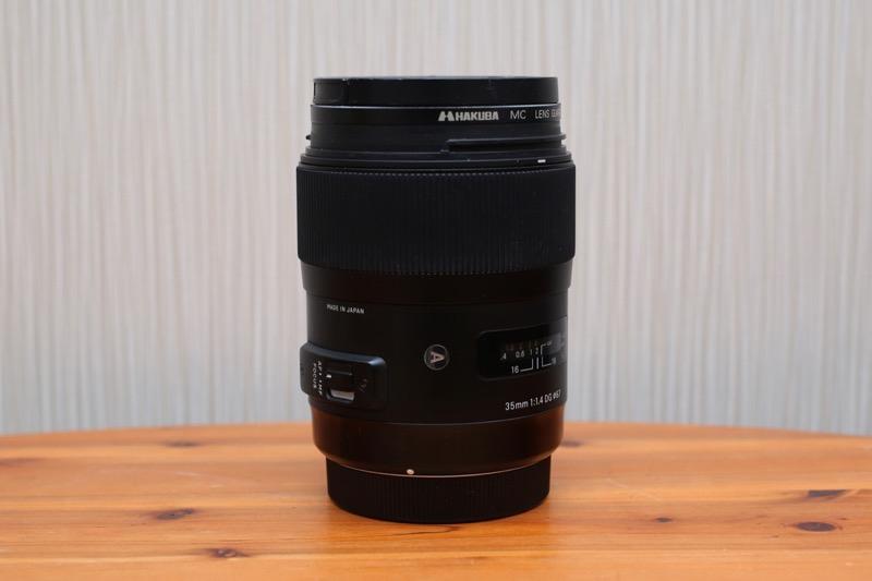 SIGMA(シグマ)A 35mm F1.4 DG HSM 1