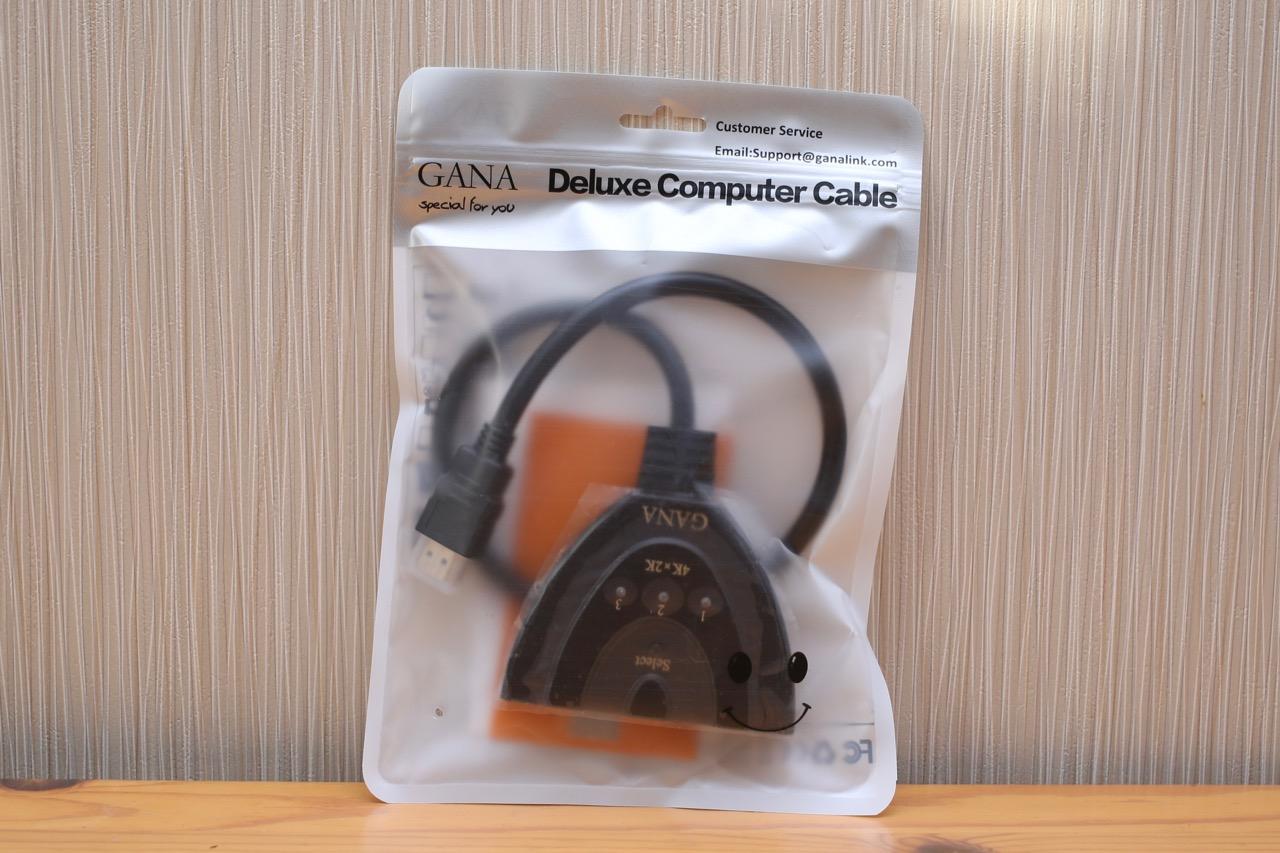 GANA HDMI切替器4