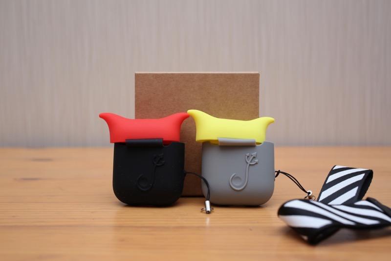 KIWI design・AirPods用シリコンケース4