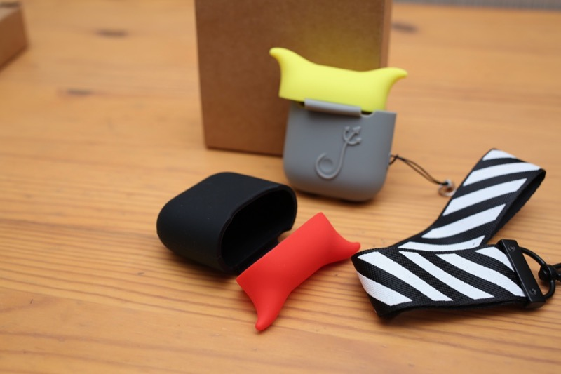 KIWI design・AirPods用シリコンケース5