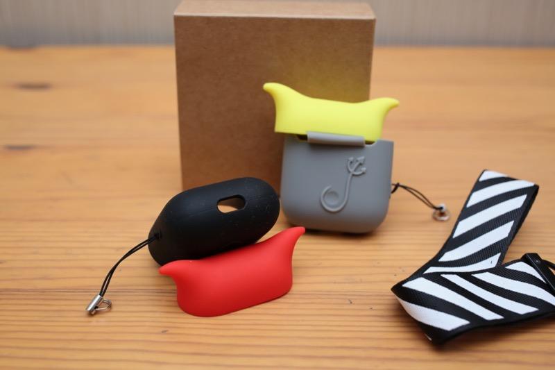 KIWI design・AirPods用シリコンケース6