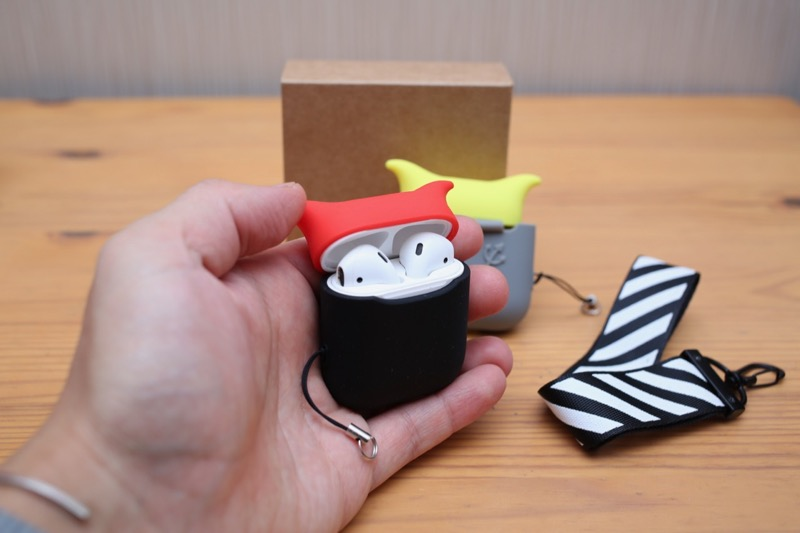 KIWI design・AirPods用シリコンケース7