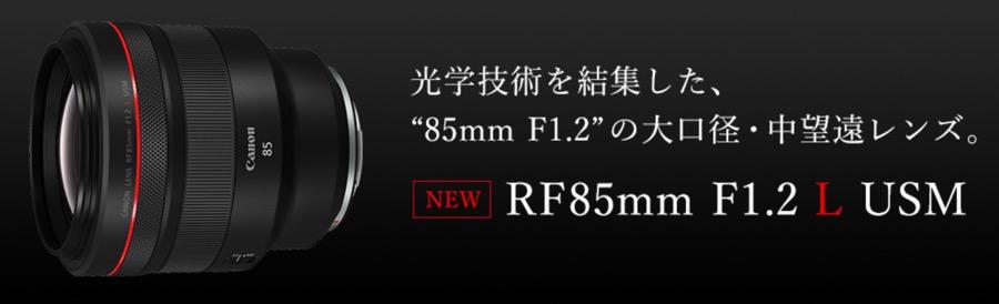 RF85mm F1.2 L USM9
