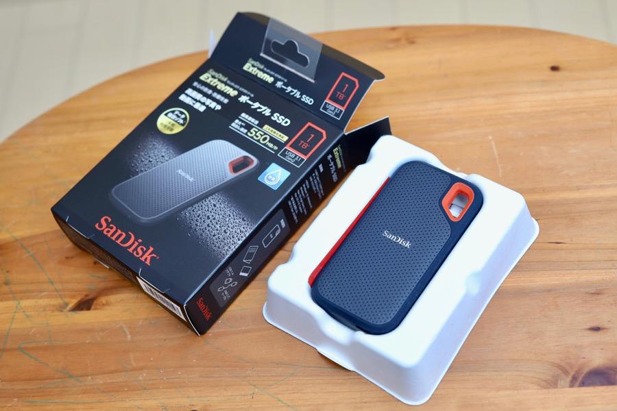 SanDisk 外付けSSD3