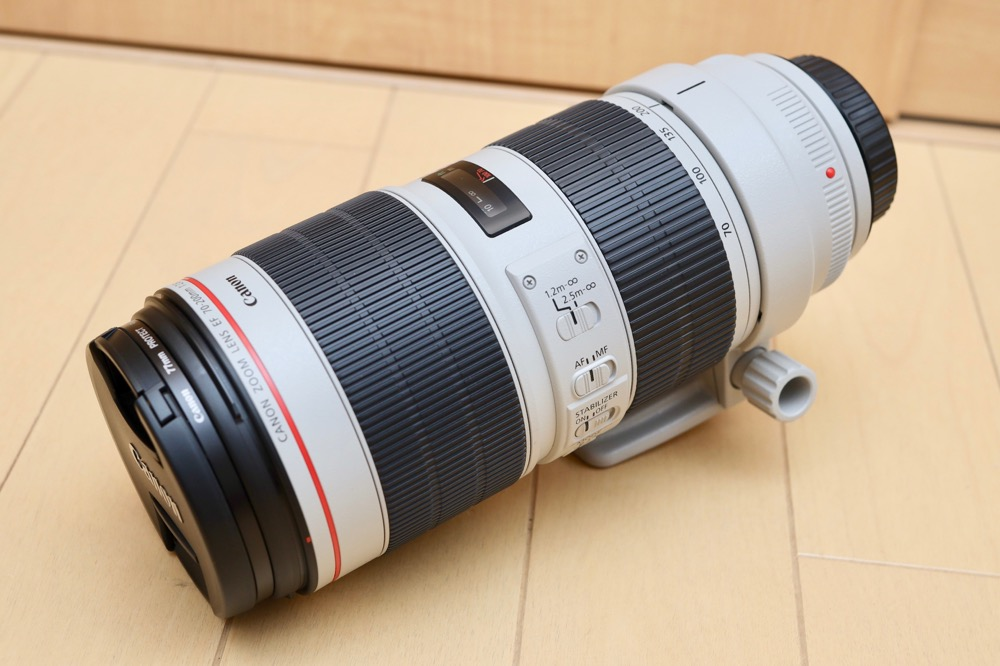 Canon EF70-200mm F2.8L IS III USM モニター11