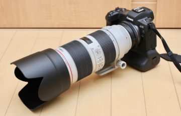 Canon EF70-200mm F2.8L IS III USM モニター14