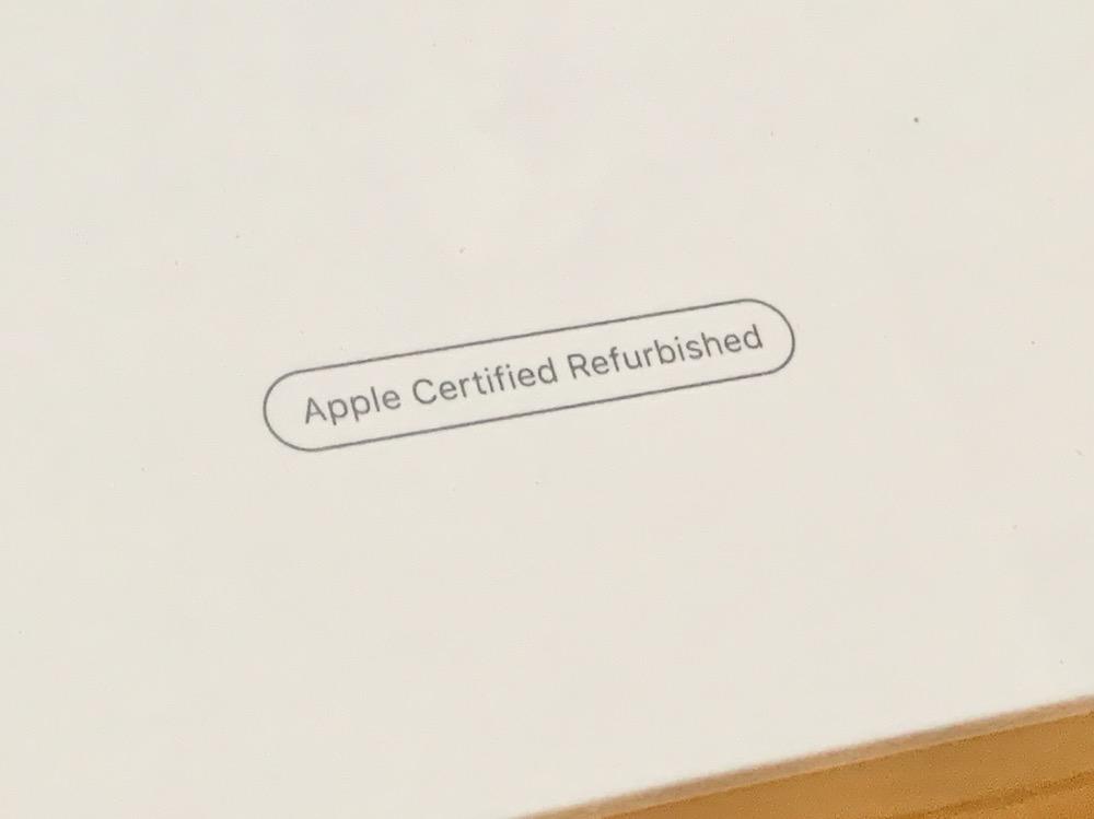 Apple 認定 整備 品